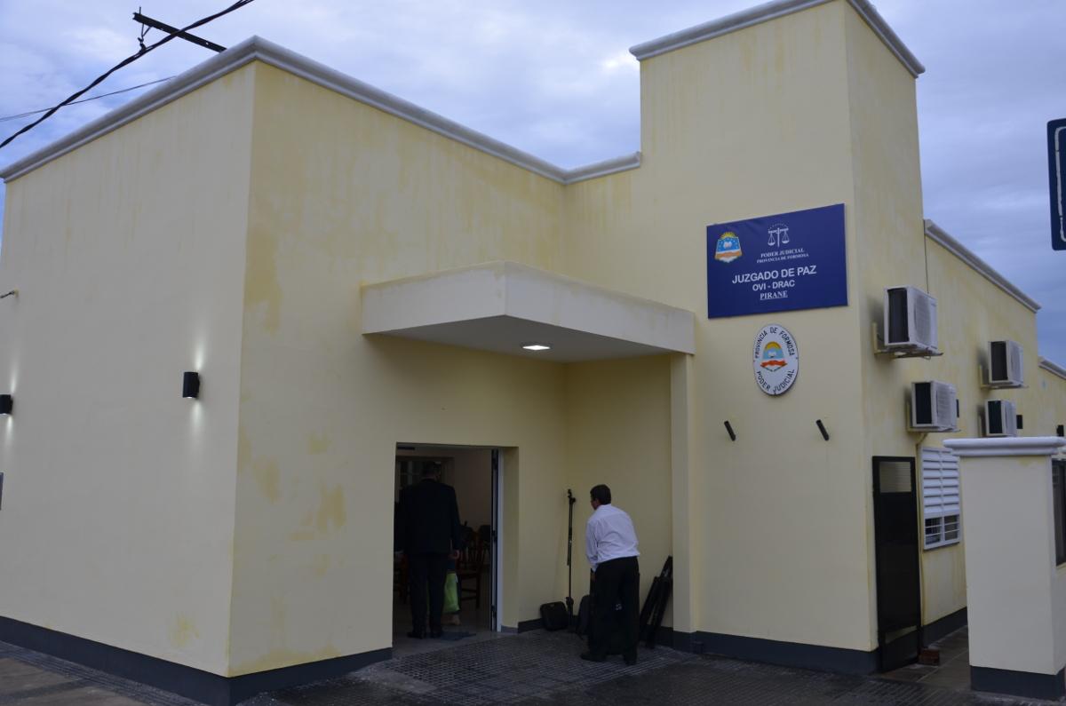 Inauguración en Pirané