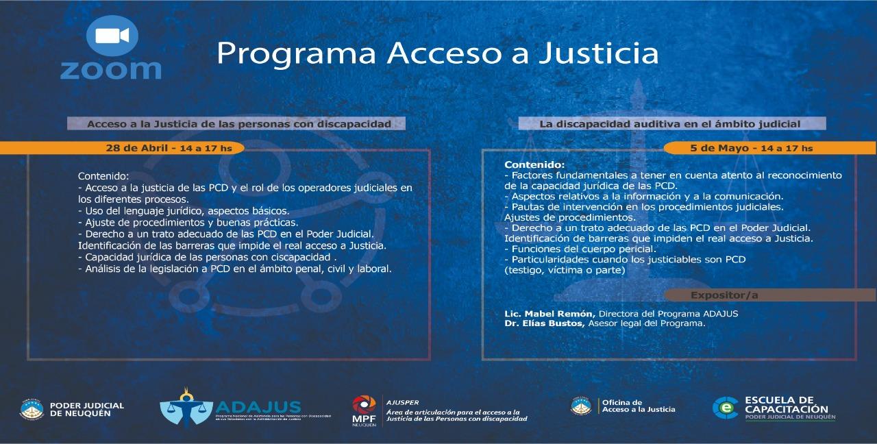 Jornadas de Acceso a Justicia - Neuquén